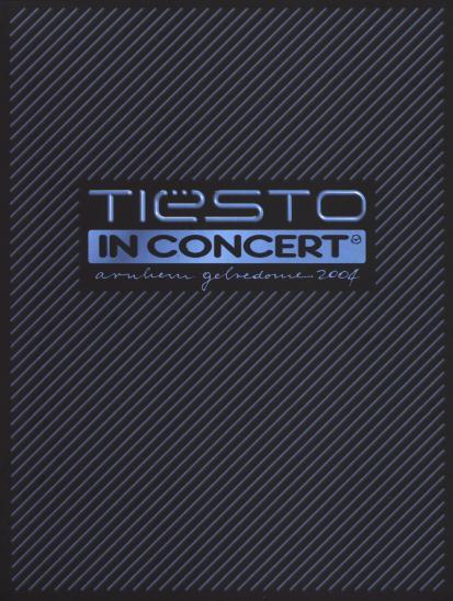 Tiesto Concert 2004 Tiësto in Concert 2004 Dvd